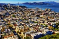 San Francisco Aerial Foto de archivo libre de regalías