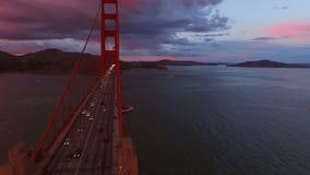 San Francisco Aerial banque de vidéos