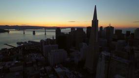 San Francisco Aerial stock video
