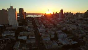San Francisco Aerial stock video footage