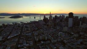 San Francisco Aerial stock footage