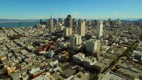 San Francisco Aerial stock footage