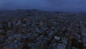 San Francisco Aerial almacen de metraje de vídeo