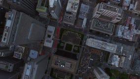 San Francisco Aerial video estoque