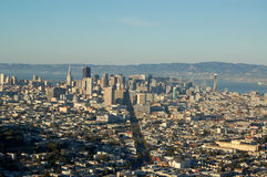 San Francisco aerial Royalty Free Stock Images