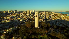 San Francisco Aerial stock video footage