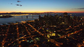 San Francisco Aerial stock video