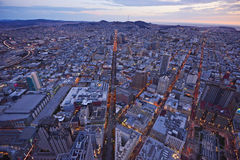 San francisco aerial view Royalty Free Stock Photography