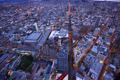San francisco aerial view Royalty Free Stock Image