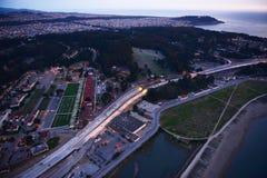 San francisco aerial view Stock Photos