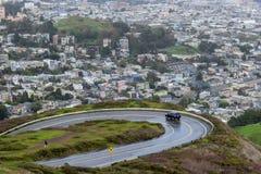 San Francisco Aerial View van Twin Peaks stock fotografie