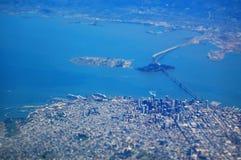 San Francisco From The Air Stockbild