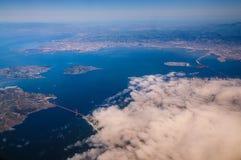San Francisco From The Air fotografia stock libera da diritti