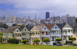 San Francisco Alamo Square Stock Image