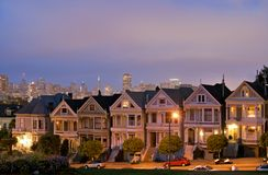 San Francisco. Alamo Square Royalty Free Stock Photo