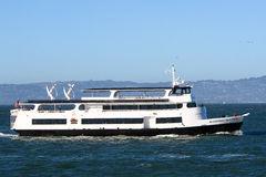 San Francisco Alcatraz Clipper Tour Boat Royalty Free Stock Images