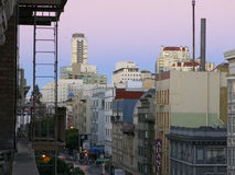 San Francisco all'alba Immagine Stock Libera da Diritti