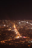San Francisco alla notte immagini stock