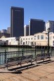 San Francisco alleine Stockbild