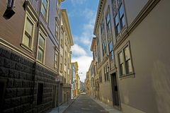 San Francisco Alley Royalty Free Stock Photo