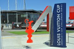 San Francisco - Americas Cup 2013 Royalty Free Stock Image