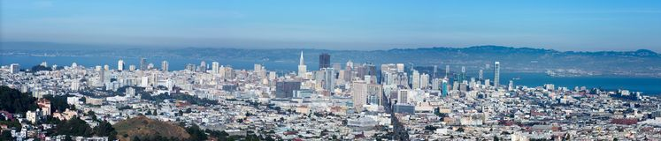 San Francisco-Ansicht stockfotografie