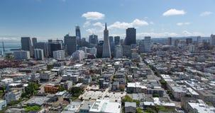 San Francisco antenn lager videofilmer