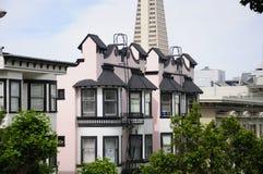 San Francisco Apartment fotografia stock libera da diritti