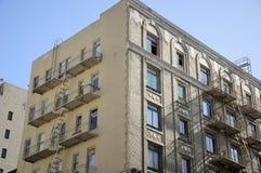 San Francisco Apartment Building fotografia stock libera da diritti