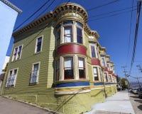 San Francisco Apartment Building fotografie stock libere da diritti