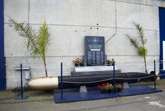 SAN FRANCISCO - 4 APRILE 2017: Memoriale ai veterani sottomarini degli Stati Uniti, California, 2017 Immagine Stock Libera da Diritti