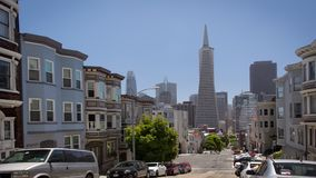 San Francisco Architecture New and Old stock footage