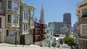 San Francisco Architecture - Old and New stock footage