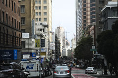 San Francisco Architektur Lizenzfreies Stockbild