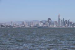 San Francisco, Baaibrug van het water Royalty-vrije Stock Foto's