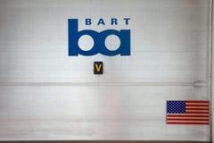San Francisco-Bart Station royalty free stock image