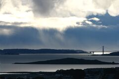 San Francisco Bay 1 Stock Image