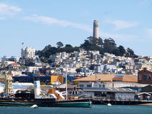 San Francisco Bay Royalty Free Stock Photo