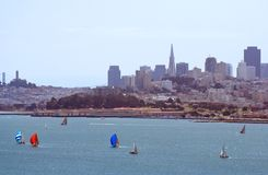 San Francisco Bay Immagini Stock Libere da Diritti
