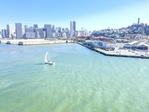 San Francisco Bay Image stock