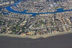 San Francisco Bay Aerial View imágenes de archivo libres de regalías