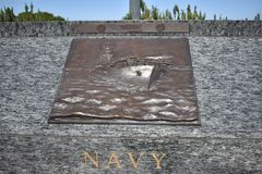 Sea Service members memorial, Navy. The San Francisco Bay Area is, by definition, a port region. It was also the final part of America that most of the sea Stock Images