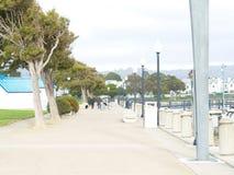San Francisco bay area ocean view. Shoreline Stock Photo