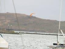 San Francisco bay area ocean view. Shoreline Royalty Free Stock Photography