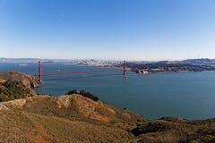 San Francisco Bay Area sikt Fotografering för Bildbyråer