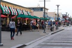 San Francisco Bay Area Street Fotos de Stock Royalty Free