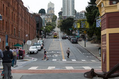 San Francisco Bay Area Street Foto de Stock Royalty Free