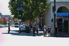 San Francisco Bay Area street scene Stock Photo