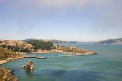 San Francisco bay area with yacht harbor Royalty Free Stock Photos