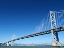 San Francisco Bay Bridge Royalty Free Stock Photos